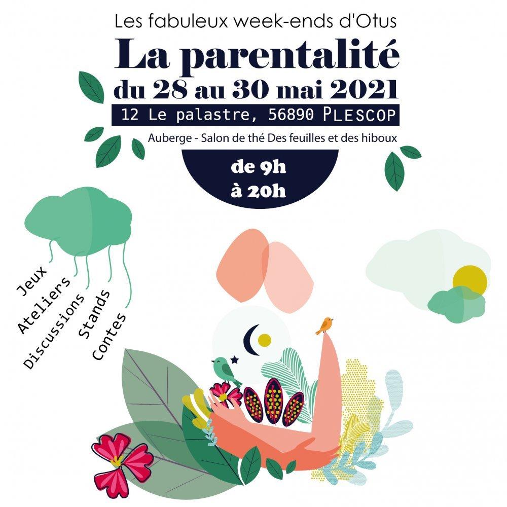 La parentalité du 28 au 30 mai à Plescop